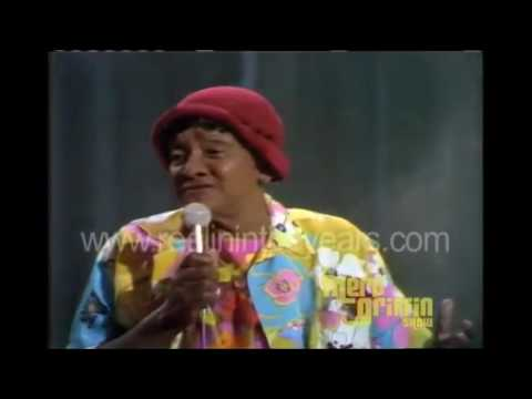 "Female Comedy - Moms Mabley - \""Abraham, Martin & John\"" (Merv Griffin Show 1969)"
