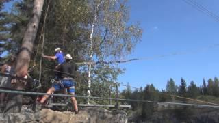 Руслан. полёт над мраморным каньоном