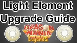 Level 6 Light Element Upgrade Guide - Dragon Mania Legends (Dazzling Aura or Healing Light?)