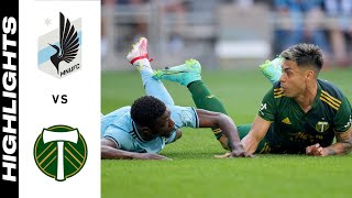 HIGHLIGHTS: Minnesota United FC vs. Portland Timbers   July 24, 2021