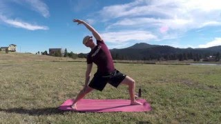 Yoga Fire Flow for Stamina, Strength and Flexibility - 40 Min Power Yoga Workout #poweryoga