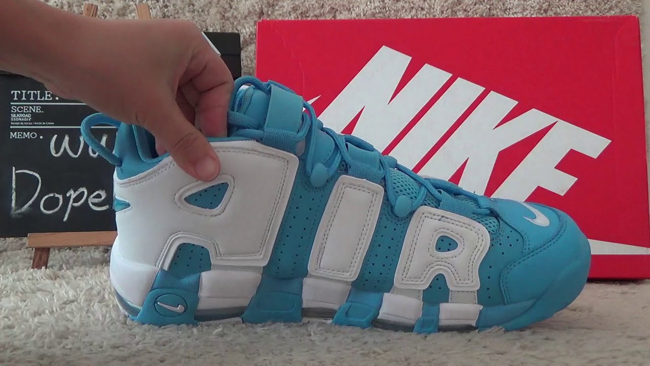 438068855ca2 Authentic NIKE Air More Uptempo 96  UNC Review from Dopekickz23 ...