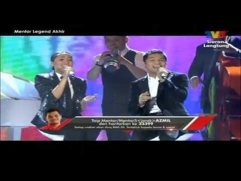 MENTOR LEGEND: Azmil & Dayang Nurfaizah - Medley Aku Jatuh Cinta / Menceceh Bujang Lapok