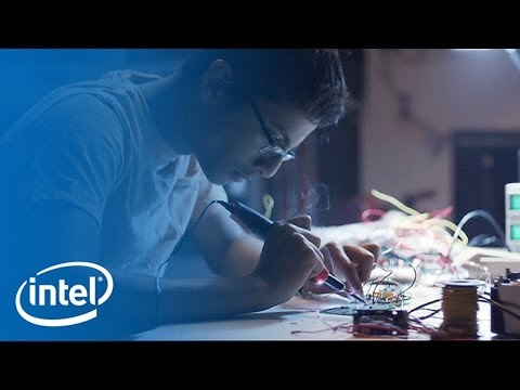 Shubham Banerjee & Intel Edison | Meet the Makers | Intel