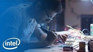 Shubham Banerjee & Intel Edison | Meet the Makers | Intel thumbnail