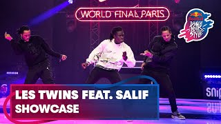 Les Twins ft. Salif Crooksboyz performing live | Red Bull Dance Your Style World Final Paris 2019