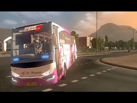 Euro Truck Simulator 2 Indonesia ETS 2 New Super Jetbus HD2 Aksi ...