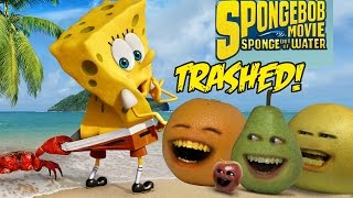 Annoying Orange - THE SPONGEBOB MOVIE: SPONGE OUT OF WATER TRAILER Trashed!! thumbnail