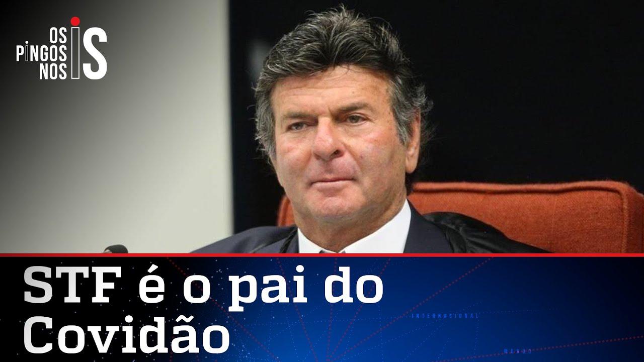 Fux tenta jogar no colo de Bolsonaro culpa pela pandemia