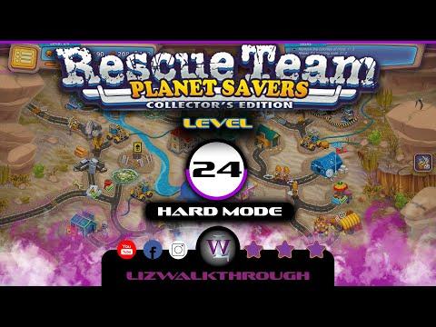 Rescue Team 11 - Level 24 Walkthrough (Planet Savers) |