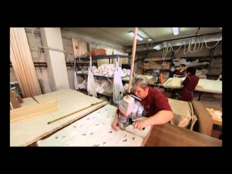 Pointe shoes factory