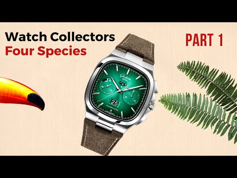 The Different Types Of Wrist Watch Buyers & Collectors. 4 Species. // Part 1