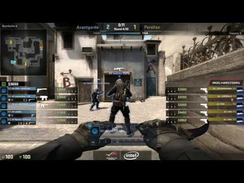 ROG MASTERS | Avant Garde vs. Parallax -  CS:GO OCE Qualifier Semifinal | Republic of Gamers
