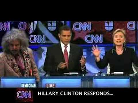 MOST RECENT PRESIDENTIAL DEBATE -  SEXY BEDROOM POLITICS?