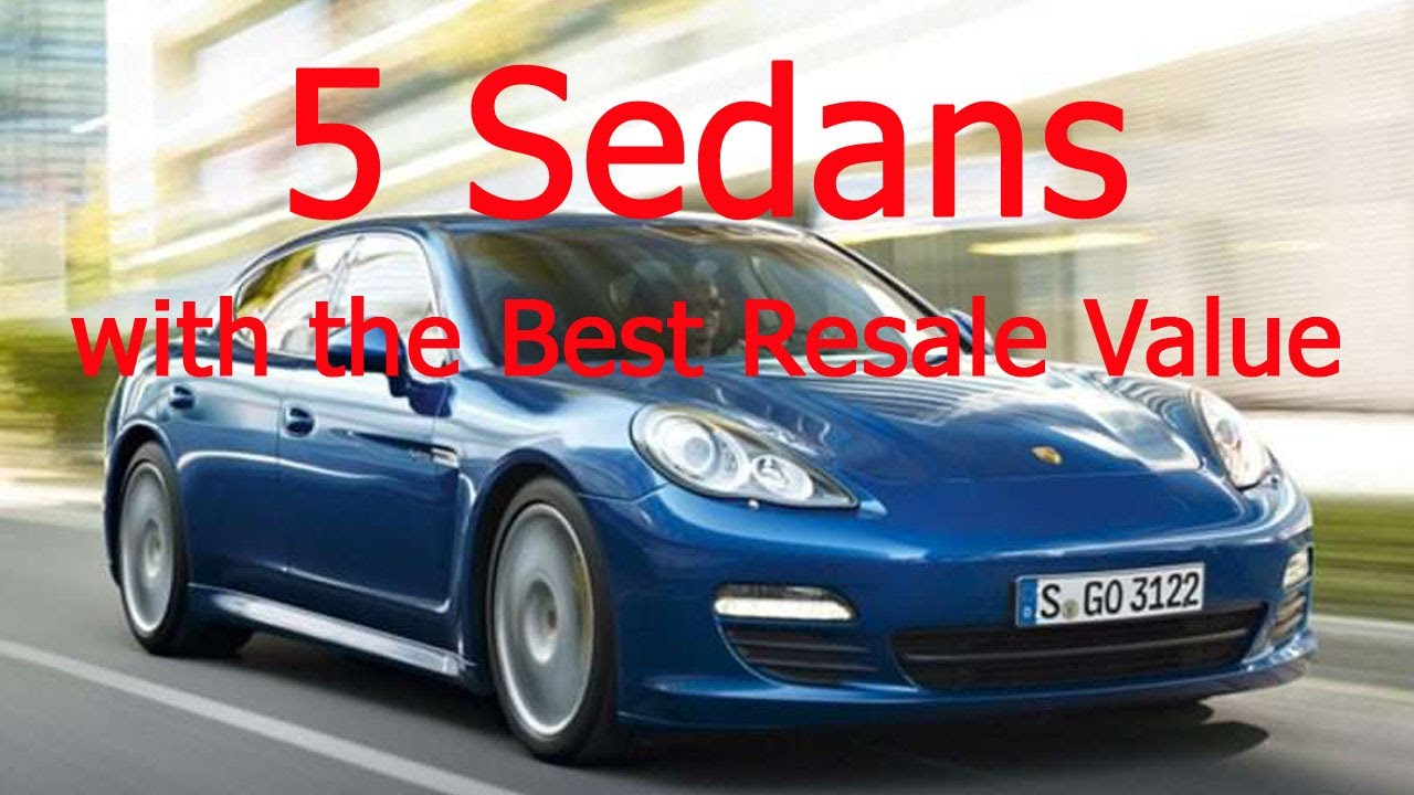 5 sedans with the best resale value you have to see new car review youtube. Black Bedroom Furniture Sets. Home Design Ideas