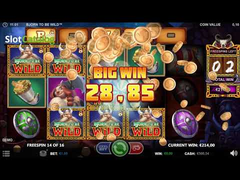 Bjorn to be Wild slot Games Inc - Gameplay