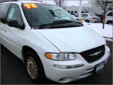 1998 chrysler town country schaumburg il youtube. Black Bedroom Furniture Sets. Home Design Ideas