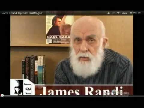 James Randi Speaks: Carl Sagan 2012 JREF