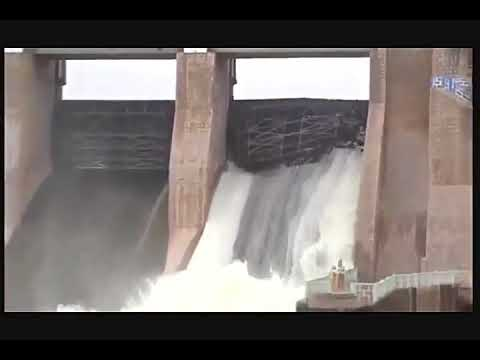 KRP Dam Gate wall is Broken - KRISHNAGIRI CENTRAL