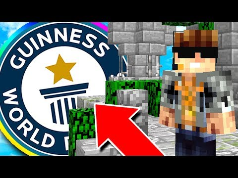 WE SET A NEW WORLD RECORD!! in Minecraft SKYBOUNDS (#52)