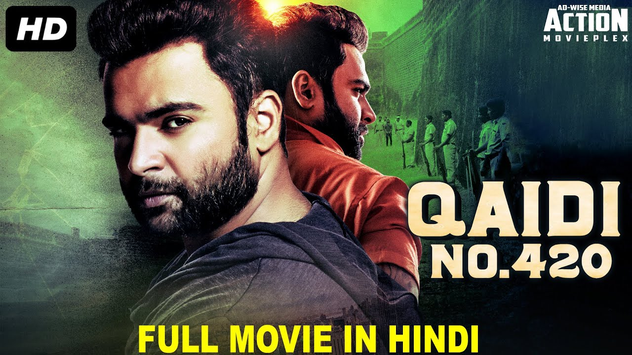 QAIDI NO 420 - Blockbuster Hindi Dubbed Full Action Movie | South Indian Movies Dubbed In Hindi