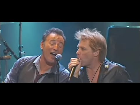 Bruce Springsteen & Bon Jovi ☜❤☞ Who Says You Can´t Go Home/Born To Run