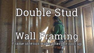 Framing Double-Stud Walls