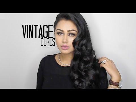 Vintage Curls Hair Tutorial