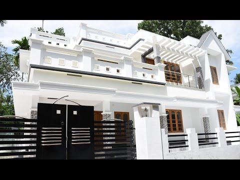 Kalady, 6 cents plot and 2200 sq ft, beautiful house for sale in Kalady, Kochi, kerala near CIAL