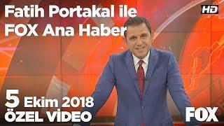 Kamu kaynaklı enflasyon yıllık yüzde 21,43! 5 Ekim 2018 Fatih Portakal ile FOX Ana Haber