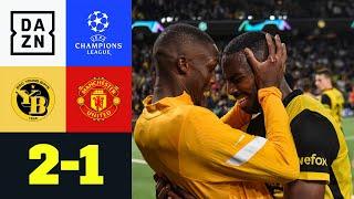90+5! Bern gewinnt in letzter Sekunde: Young Boys - Man United 2:1 | UEFA Champions League | DAZN