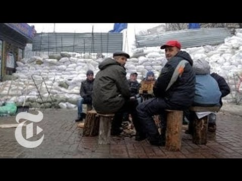 Feeding the Protest in Ukraine | The New York Times
