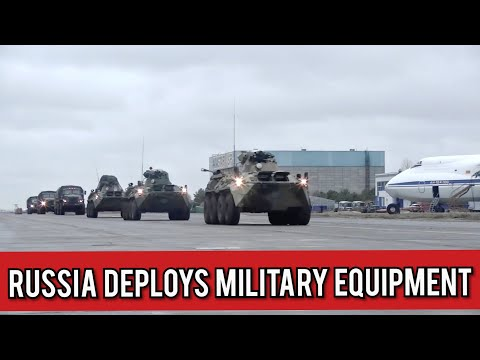 Military Equipment Deployed for Russian Peacekeepers in Nagorno-Karabakh