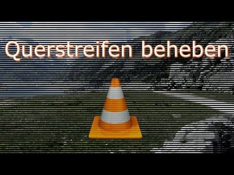 Querstreifen im Bild beheben - VLC media player (Deinterlacing)