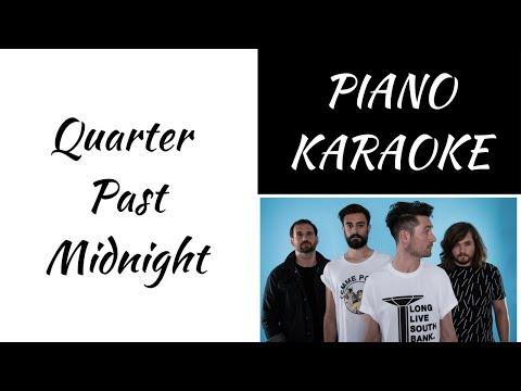 Quarter Past Midnight - Bastille - piano KARAOKE