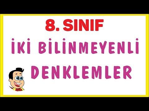 İKİ BİLİNMEYENLİ DENKLEMLER | ŞENOL HOCA