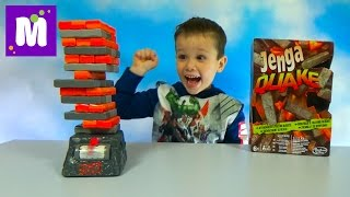 ������ � ���� ������ ����� ������ ����� Jenga Quake unboxing and play
