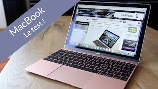 MacBook (OR ROSE !) 2016 : le test !
