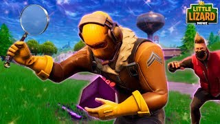 DRIFT AND RAPTOR FIND THE CUBE!? - Fortnite Short Film