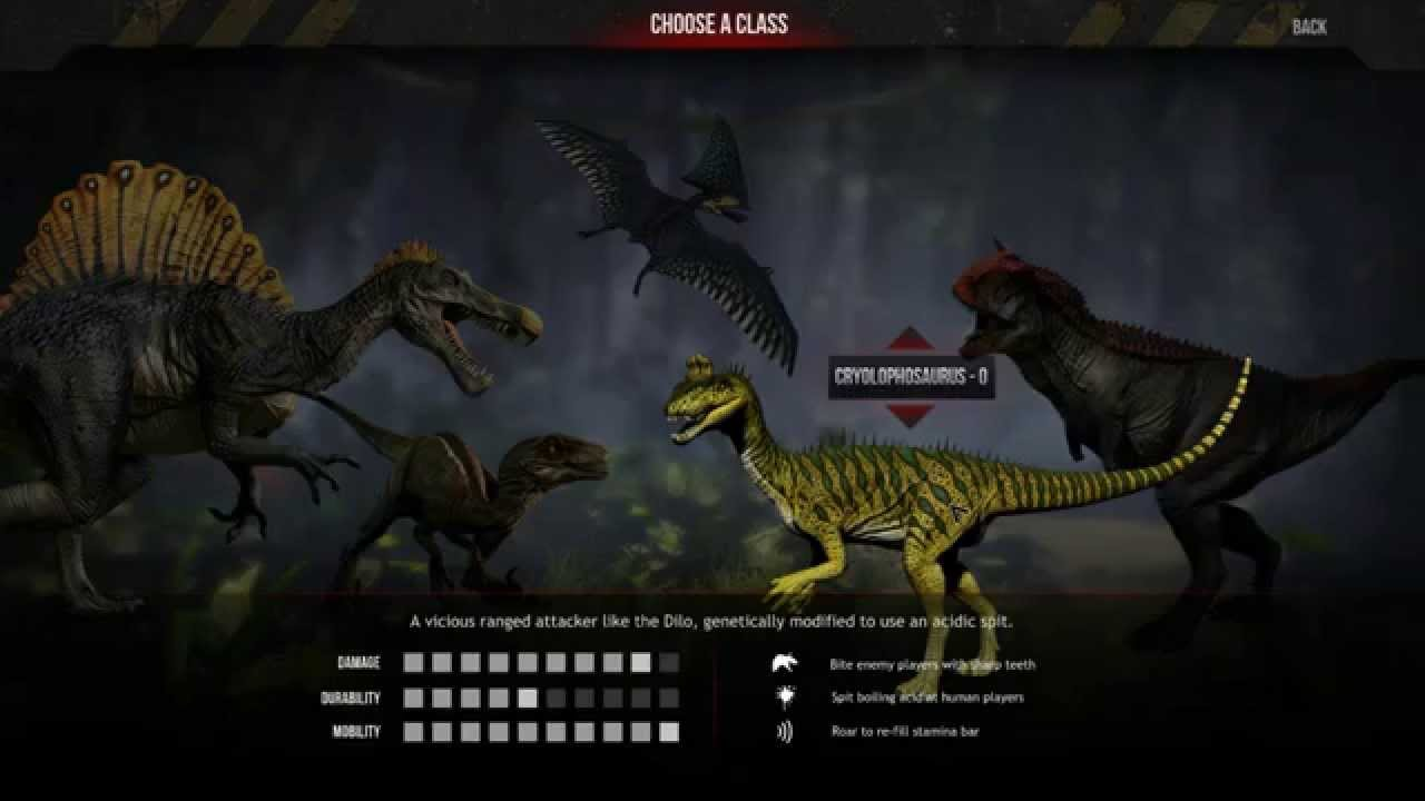 dilophosaurus primal carnage - photo #40