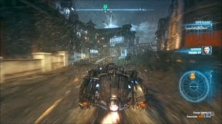 Batman: Arkham Knight - Batmobile Gameplay Video