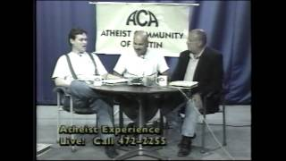 """Lost"" Atheist Experience #100 with Ray Blevins, Jeff Dee, and Don Rhoades"