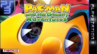 Longplay of Pac-Man and the Ghostly Adventures