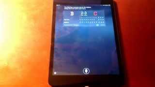 "iOS 8 demonstration of ""Hey, Siri"""
