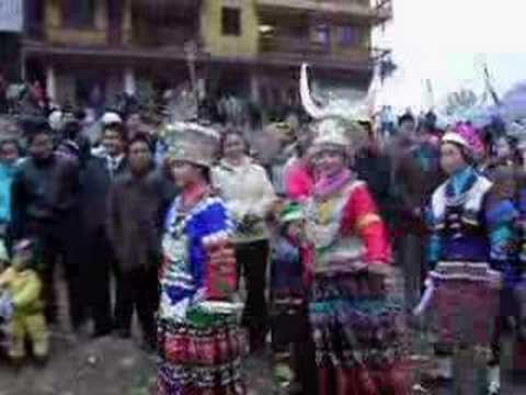 Festival Tribal Dance of Ethic Miao of Southwest China