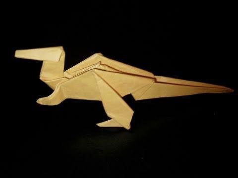 origami dinosaur youtube