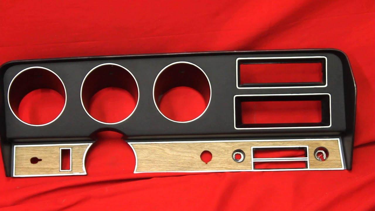 1970 Gto Dash Instrument Cluster Youtube 1960s Pontiac