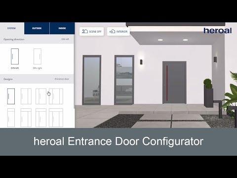 Heroal Entrance Door Configurator | Heroal Services