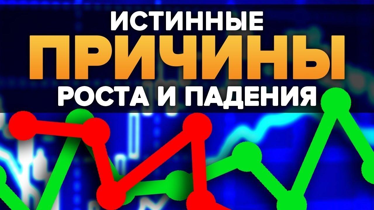 Почему Курсы Падают и Растут? | Как предугадать курс валюты на бинарных опционах