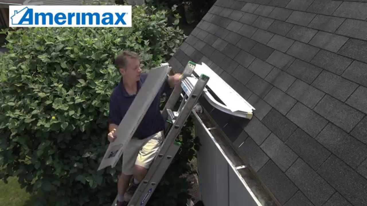 How To Install Amerimax Solid Gutter Cover Gutter Guards